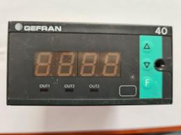 Gefran 40T-96-4-24-RR-R-3-1-000. Універсальний показник температури та тиску. Вживаний