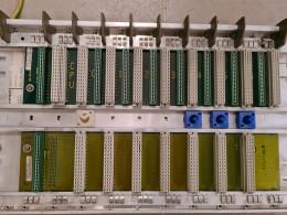 Siemens 6ES5 700-2LA11. Шинний модуль. Вживаний