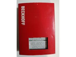 BECKHOFF EL6001, послідовний інтерфейсний модуль. Новий