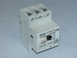 Автомат захисту двигуна ABB, 4-6.3А, M625. Вживаний