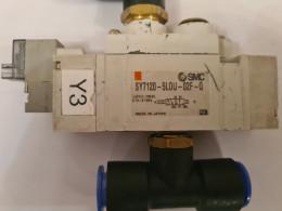 SMC SY7120-5LOU-02F-Q. Пневморозподільник. Вживаний