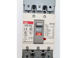 LS ABS53B MEC MCCB. Автоматичний вимикач на 5А. Вживаний