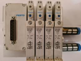 Festo VTUG-14-MSPR-B1T-25V20-Q10L-UR-Q6S-4A-M1. Пневмоострів. Вживаний